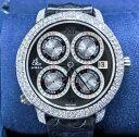 【新品】JACOB&CO ジェイコブ ツータイムゾーン ステンレススチール GMT14SS メンズ 腕時計 watch 【送料・代引手数料無料】