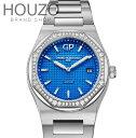 【新品】GIRARD PERREGAUX ジラール ペルゴ LAUREATO ステンレススチール ダイヤモンド レディース 80189D-11A-433-11A 腕時計 watch 【送料・代引手数料無料】