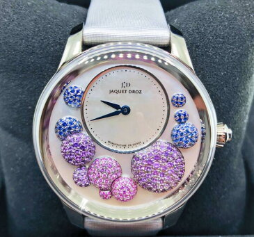 【新品】JAQUET DROZ ジャケドロー PETITE HEURE MINUTE MOTHER-OF-PEARL J005024537 メンズ 18kホワイトゴールド 腕時計 watch【送料・代引手数料無料】