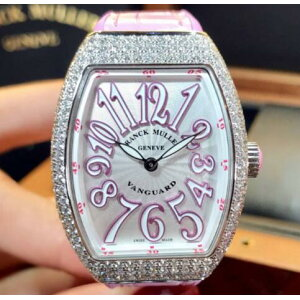 [New] FRANCK MULLER VANGUARD V32 QZ D AC RS Stainless Steel Ladies Watch watch [Shipping and COD fees are free]