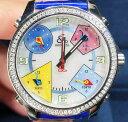 【新品】JACOB&CO ジェイコブ ファイブタイムゾーン ステンレススチール JCM-24 腕時計 watch【送料・代引手数料無料】の画像