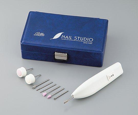ネイル&ペディキュアセット TIPY-78 8-2455-01【フットケア・ネイルケア・爪やすり・切削工具・穿孔機器・電動工具・角質除去・うおの目削り】 爪のケアや角質除去・うおの目削り等に適しています。