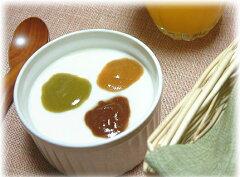 糀と餅米がつくる甘みを利用したジャムです。ココア、抹茶、きなこの3つも風味があります。和風...