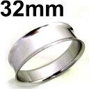 ボディピアス サージカルステンレス ダブルフレアイヤレット 32mm