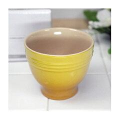 (正規日本仕様) ル・クルーゼ デザートカップ (ディジョンイエロー) ルクルーゼ
