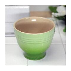 (正規日本仕様) ル・クルーゼ デザートカップ (フルーツグリーン) ルクルーゼ