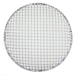 お手軽な使い捨ての焼き網です。七輪などに!使い捨て焼き網 丸 28cm ドーム型(SBH-129/1枚バ...
