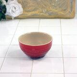 ル・クルーゼ(Le Creuset) ライスボール チェリーレッド 910212-00-06 (日本正規販売品)