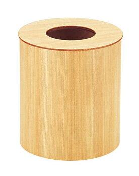 木製ルーム用ゴミ入れ蓋付(栓白木)952H大