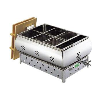おでん鍋 湯煎式 (マッチ点火) 尺5 (45cm)