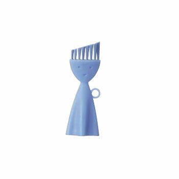 お弁当箱洗いブラシK-187B(ブルー)