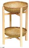 木製飾り台かご付 大 15−707L