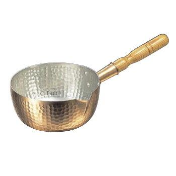 雪平鍋 片口・打出 銅製 21cm