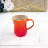 ル・クルーゼ マグカップ (S) オレンジ (日本正規販売品) 910072-01 ルクルーゼ(Le Creuset)