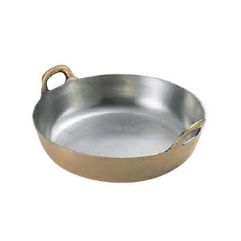 揚鍋プレス製銅製36cm(板厚3.0mm)