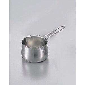 ミルクパン 目盛付 ワイヤーハンドル18-8(ステンレス) 12cm 900cc