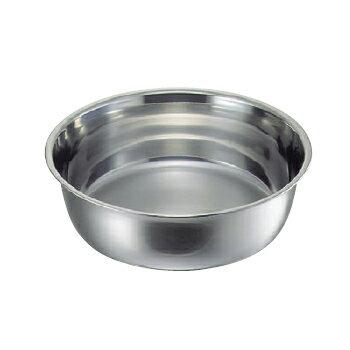料理桶(洗い桶)18-8(ステンレス)クローバー55cm