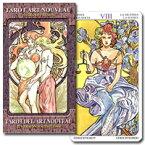 【タロットカード】アールヌーボータロット(大アルカナのみ)☆TAROT ART NOUVEAU (22 CARDS)
