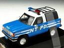 ミニカー Premium-X / プレミアムX フォード ブロンコ II 1989 ニューヨーク市警パトカー
