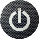 エスクァイア ESQUIRE スタートボタンカバー スイッチカーボン柄 黒 貼るだけかんたん取付 プッシュ スタート スイッチ カバー Push Start Switch Accessory for TOYOTA スイッチカーボン柄 黒 TOYOTA 車用 1