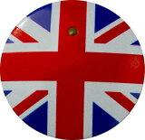 【送料無料】 車 アクセサリー キャスト CAST CAST スタートボタンカバー ・国旗イギリス風・ 貼るだけかんたん取付 プッシュ スタート スイッチ カバー Push Start Switch Accessory for DAIHATSU ・国旗イギリス風・ DAIHATSU 車用
