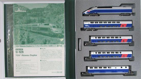 鉄道模型, 電車 NKATO 10-1529 TGV 10A