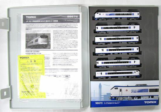 鉄道模型, 電車 NTOMIX 98672 JR 281() 6A