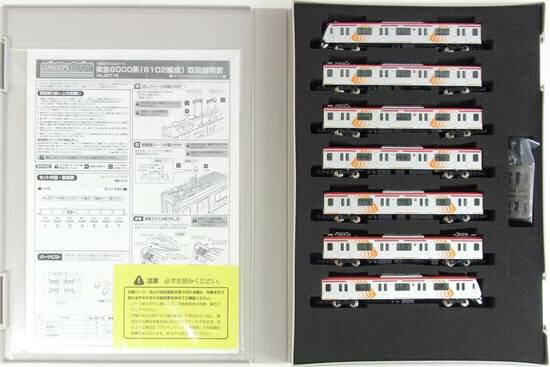 鉄道模型, 電車 N 30716 6000(6102) 7()A