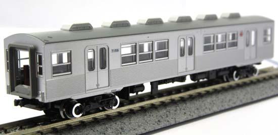 鉄道模型, 電車 NKATO 10-1305(1) 7159 ( No.9 7000)AKATO