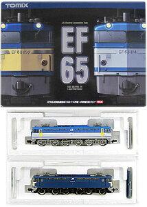 【鉄道模型 Nゲージ】【中古】Nゲージ/TOMIX 92974 JR EF65 0形電気機関車 100・114号機・JR貨...