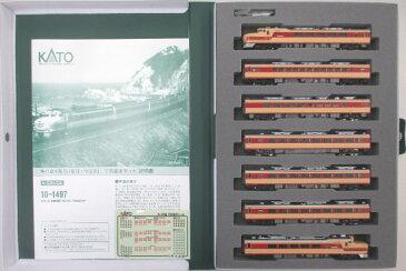 【中古】Nゲージ/KATO 10-1497 キハ81系 「いなほ・つばさ」 7両基本セット【A】