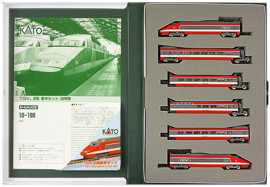 鉄道模型, 電車 NKATO 10-198 TGV 6 2000A