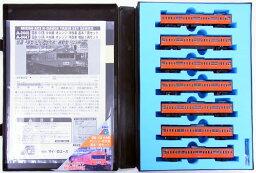 【中古】Nゲージ/マイクロエース A0446 国鉄 103系 中央線・オレンジ・冷改車 基本7両セット【A'】スリーブ傷み