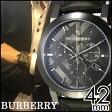 バーバリー 腕時計 メンズ 男性 [ BURBERRY ] 時計 シティ ( The City ) グレー BU9364 [ おすすめ ブランド プレゼント ギフト おしゃれ オシャレ レザー ベルト 革 クロノグラフ ]