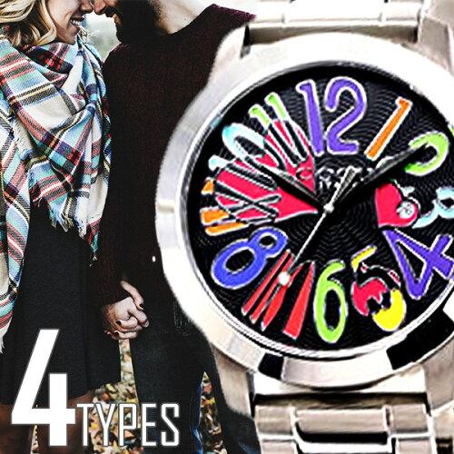 コグ 腕時計 [ cogu 時計 ] マルチカラー メンズ レディース ブラック CG44-BKC [ 当店限定 ]
