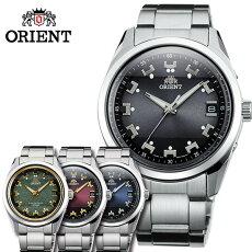 [送料無料]オリエント腕時計[ORIENT時計](ORIENT腕時計オリエント時計)ネオセブンティーズ(Neo70's)メンズ腕時計/レッド/WV0081SE[メタルベルト/電波ソーラー/正規品/防水/シルバー/ゴールド/RR700]