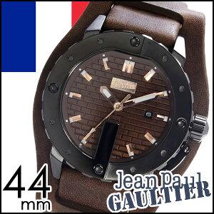 [送料無料]ジャンポールゴルチェ腕時計[JeanPaulGAULTIER時計](JeanPaulGAULTIER腕時計ジャンポールゴルチェ時計)メンズ腕時計/ブラウン/JPG-8500102[革ベルト/男性用/シルバー/グレー/ブラック/ピンクゴールド/ゴルチエ/ゴルティエ]