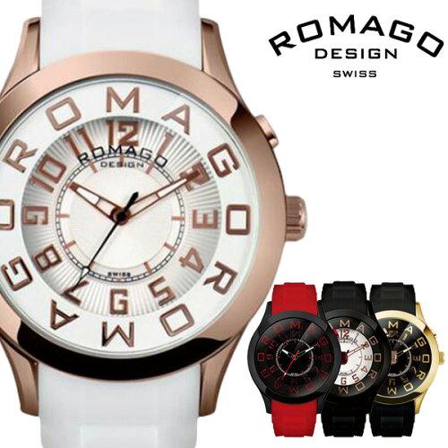 ロマゴデザイン 腕時計 [ ROMAGO DESIGN 時計 ] ロマゴ アトラクション [ Attraction ] メンズ レ...