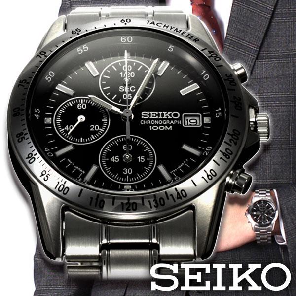メンズ腕時計の王道 セイコー腕時計SEIKO時計腕時計メンズクロノグラフ逆輸入海外モデルメンズメンズ腕時計就活サラリーマン社会