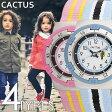 カクタス腕時計 CACTUS時計 CACTUS 腕時計 カクタス 時計 男の子 女の子 キッズ 子供用 ホワイト CAC-79-M10 [ ナイロン ベルト 正規品 NATO キッズウォッチ ジュニア 子供用 イエロー ブルー ]
