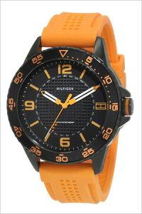 トミーヒルフィガー腕時計[TommyHilfiger時計](TommyHilfiger腕時計トミーヒルフィガー時計)ラバーベルトメンズ/レディース/ブラック/1790837[TOMMY]
