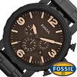 フォッシル 腕時計 メンズ 男性 [ FOSSIL ] フォッシル 時計 [ fossil 腕時計 メンズ TREND ] ブラウン JR1356 [ 人気 日付機能 日付表示 メタルベルト 革ベルト 多数取り扱い プレゼント ギフト ]