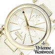 ヴィヴィアンウエストウッド腕時計 [ VivienneWestwood時計 ]( Vivienne Westwood 腕時計 ヴィヴィアン ウエストウッド タイムマシーン 時計 ヴィヴィアン腕時計 ) オーブ ( Orb ) レディース ホワイト VV006WHWH