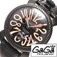 ガガミラノ 腕時計 [ GaGa MILANO 時計 ] ガガ ミラノ マヌアーレ [ MANUALE ] 48MM ブラック メンズ レディース 50169-BK [ 人気 ]