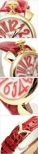 ガガミラノ腕時計[GaGaMilano時計](GaGaMilano腕時計ガガミラノ時計)マヌアーレ(MANUALE40mm)ユニセックス/男女兼用時計/ホワイト/GG-50215[エレガントカジュアル]