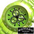 ロマゴデザイン 腕時計 メンズ 男性 [ ROMAGO DESIGN ] ロマゴ 時計 スーパーレジェーラ/グリーン RM026-0288AL-GR[祝い/ギフト]