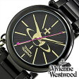 ヴィヴィアンウエストウッド腕時計 [ VivienneWestwood時計 ]( Vivienne Westwood 腕時計 ヴィヴィアン ウエストウッド 時計 ) ケンジントン II ( Kensington II )レディース腕時計/ブラック/VV006KBK