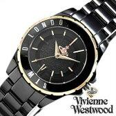 ヴィヴィアンウエストウッド腕時計 [ VivienneWestwood時計 ]( Vivienne Westwood 腕時計 ヴィヴィアン ウエストウッド 時計 ) スローン II ( Sloane II ) レディース腕時計 ブラック VV088RSBK