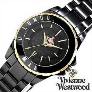ヴィヴィアンウエストウッド腕時計[VivienneWestwood時計](VivienneWestwood腕時計ヴィヴィアンウエストウッド時計)スローンII(SloaneII)/レディース腕時計/ブラック/VV088RSBK[送料無料]