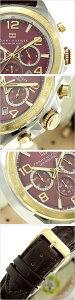 トミーヒルフィガー腕時計[TommyHilfiger時計](TommyHilfiger腕時計トミーヒルフィガー時計)メンズレディースユニセックス/男女兼用腕時計/ワインレッド/1790940[知的クール憧れ誕生日セレブ芸能人]